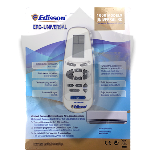 Universal Mini-Split Remote Control – Edisson Electric